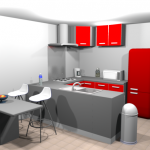 Sweet Home D Cuisine Interesting Facilit Moyenne Graphisme Trs - Sweet home 3d cuisine